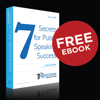 FREE EBOOK - 7 Secrets to Public Speaking Success