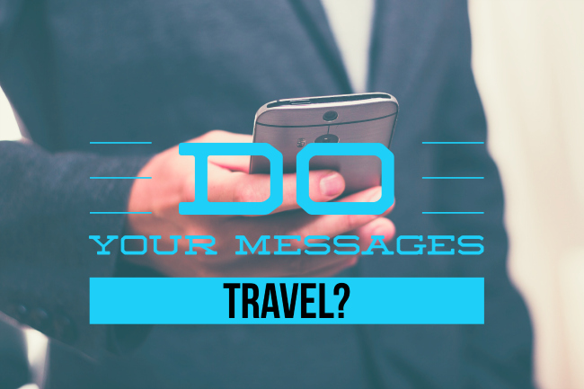 Speakers Do Your Message Travel