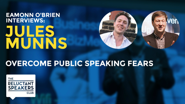 Overcome Public Speaking Fears