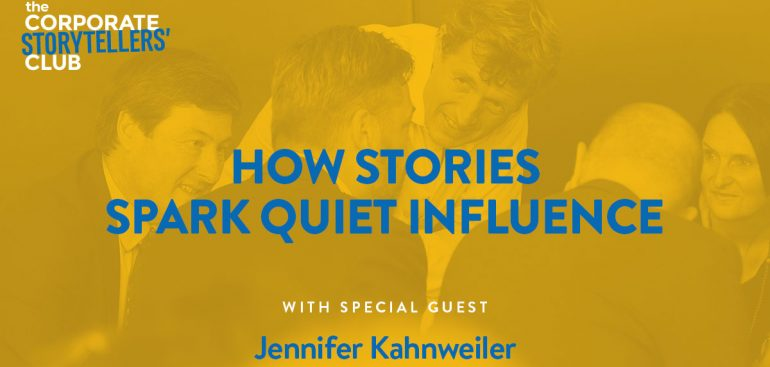 How stories create quiet influence for introverted leaders